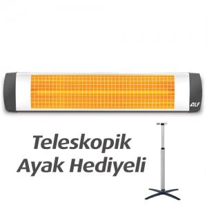 ALF Basic 1800 Isıtıcı | Bugüne Özel Ayak Hediyeli