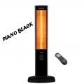 UFO Micatronic Tower UK23 Digital Isıtıcı | Piano Black
